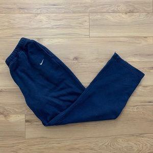 🔵 Early 2000s Nike Cotton Sweatpants (Sz M)